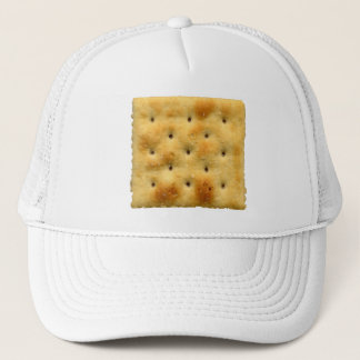 White Saltine Soda Crackers Trucker Hat