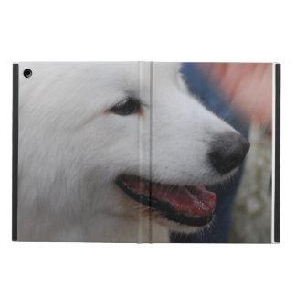 White Samoyed Dog iPad Air Covers