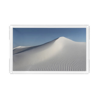 White Sands Acrylic Tray
