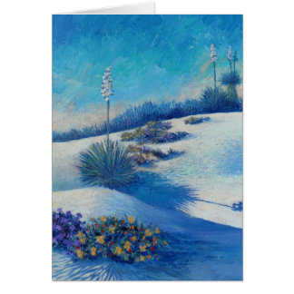 White Sands Bouquet-Art by Kathy Morrow Card