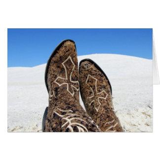 White Sands Desert Greeting Card