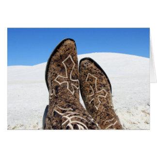 White Sands Desert Note Card