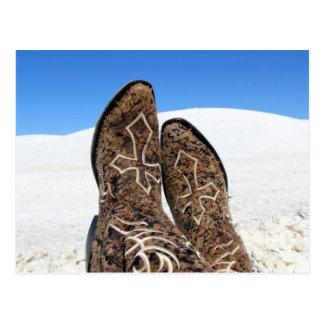 White Sands Desert Postcard