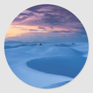 White Sands National Monument 2 Classic Round Sticker