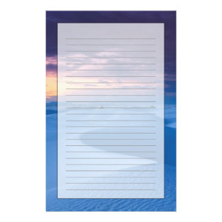 White Sands National Monument 2 Customized Stationery