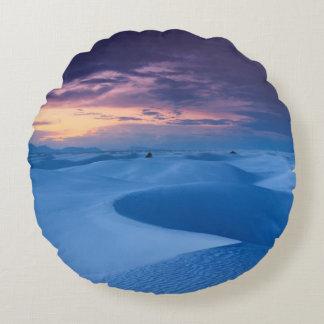 White Sands National Monument 2 Round Cushion