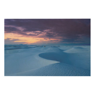 White Sands National Monument 2 Wood Print