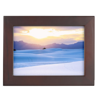White Sands National Monument 3 Keepsake Box
