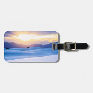 White Sands National Monument 3 Luggage Tag