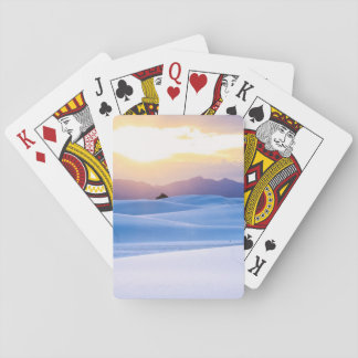 White Sands National Monument 3 Playing Cards