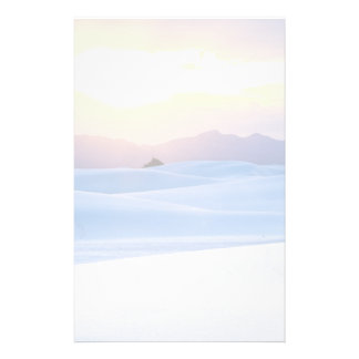 White Sands National Monument 3 Stationery Design