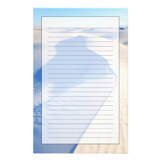 White Sands National Monument Personalised Stationery