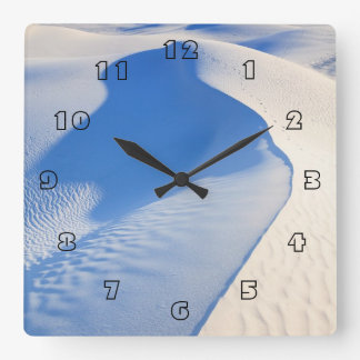 White Sands National Monument Square Wall Clock
