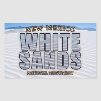 White Sands National Monument Stickers