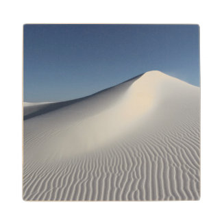 White Sands Wood Coaster