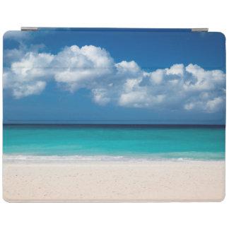 White sandy beach at Eagle Beach iPad Cover