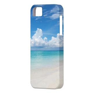 White sandy beach iPhone 5/5s iPhone 5 Cases