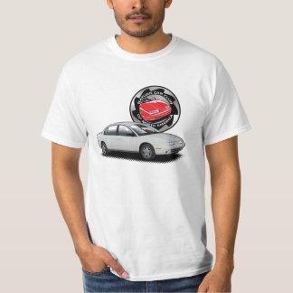 White Saturn SL2 SCCNA t-shirt