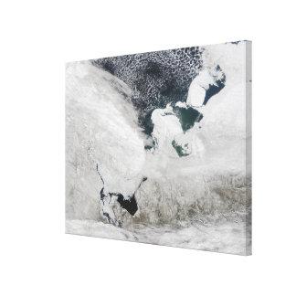 White Sea, Russia Canvas Print