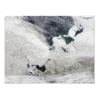 White Sea, Russia Photo Print