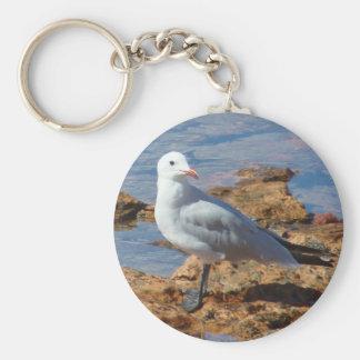 White Seagull - Keychain