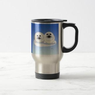 White Seal Pups Go Mug