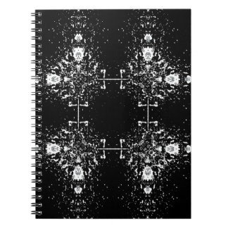 White Shapes Notebook