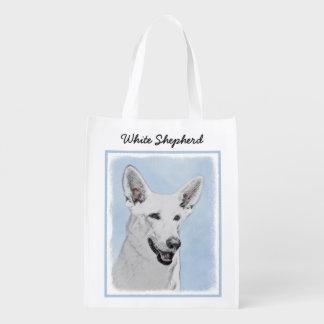 White Shepherd Reusable Grocery Bag
