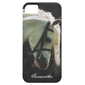 White show pony iPhone 5 covers