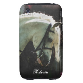 White show pony tough iPhone 3 covers