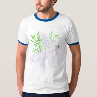 White Siamese Fighting Fish Shirt