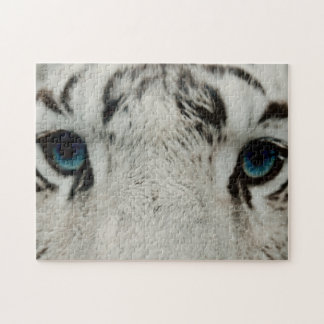 White Siberian Tiger Jigsaw Puzzle