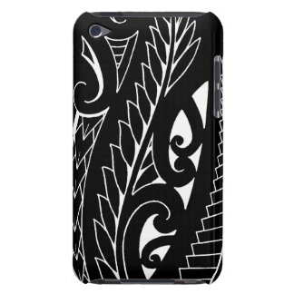 White silverfern New Zealand national symbol art Barely There iPod Cover