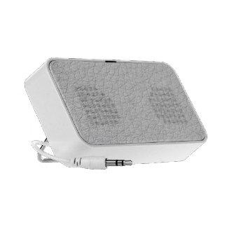 White Skin iPod Speaker