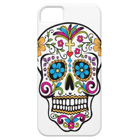 White skull candy for iphone 5 iPhone 5 cases