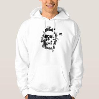 white skull hoodie
