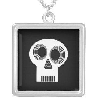 White Skull Necklace