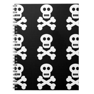 White Skulls Notebook