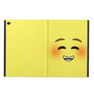 White Smiling Emoji Powis iPad Air 2 Case
