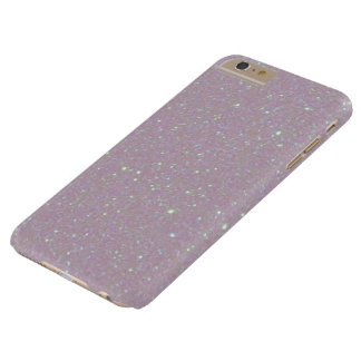 White Snow Pearl Opalescent Glitter Barely There iPhone 6 Plus Case
