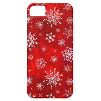 White Snowflakes iPhone 5 Case