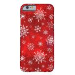 White Snowflakes iPhone 6 Case