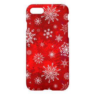 White Snowflakes iPhone 8/7 Case