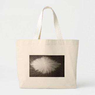White Spark Jumbo Tote Bag