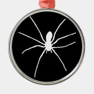 White Spider Christmas Ornament