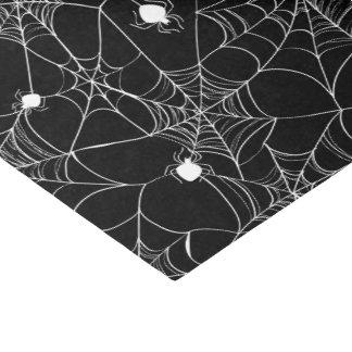White Spider Web Halloween Tissue Paper