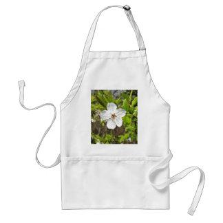 White Spring Blossom Standard Apron