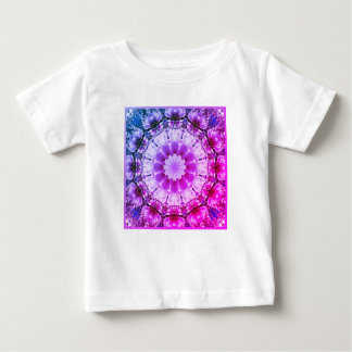 White spring blossoms 2.0.F.3, mandala style Baby T-Shirt