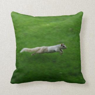 White Squirrel Run Cushion