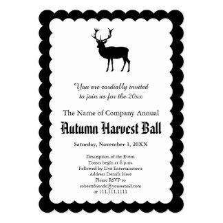 White Stag Autumn Harvest Ball